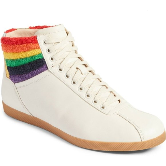 Gucci Rainbow Bambi Sneakers Pride